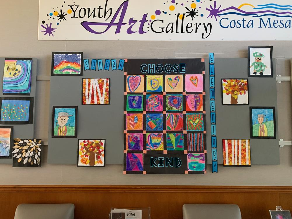 Youth Art at City Hall